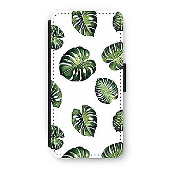 Samsung Galaxy S7 Flip Case - Tropical leaves
