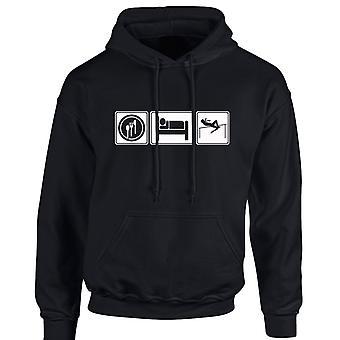Eat Sleep Athletics Sport Unisex Hoodie 10 Colours (S-5XL) by swagwear