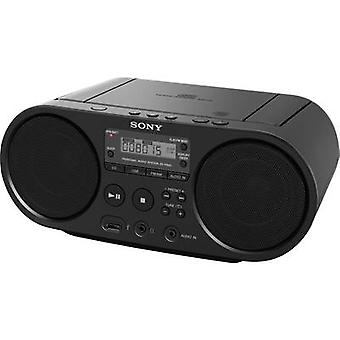 DAB+ Radio/CD Sony ZS-PS55B AUX, CD, USB Black