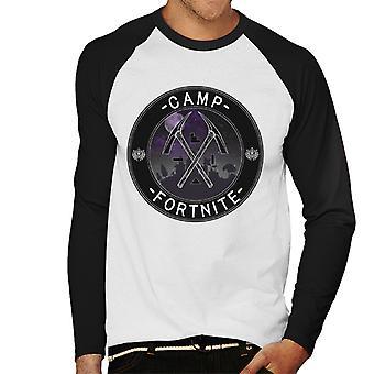 Camp Fortnite Men's Baseball Long Sleeved T-Shirt
