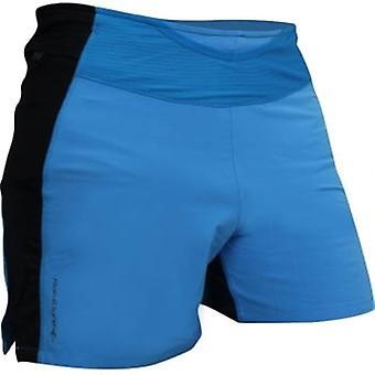 Trail Raider Mens Breathable Running Shorts With Pockets Electric Blue/Black