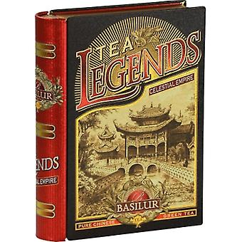 Basilur Tea Legends Celestial Empire Loose Tea In Metal Tin Caddy 100G