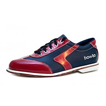 Bowling shoes - Bowlio Verona - leather with leather sole