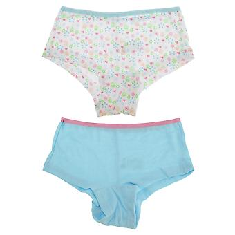 Tom Franks Girls Shorts Underwear (2 Pack)