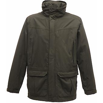 Regatta Mens Vertex III Waterproof Breathable Jacket TRW463 Green