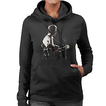 David Bowie At Birmingham NEC 1990 Women's Hooded Sweatshirt