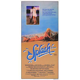 Locandina del film Splash (11 x 17)