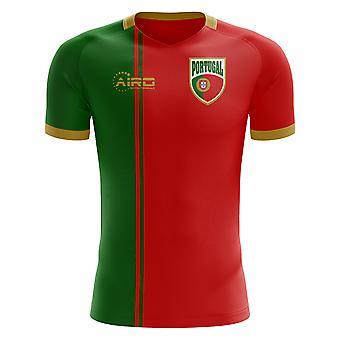 2018-2019 Portugal vlag Home Concept voetbalshirt