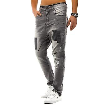 Men's Jeans Skinny Pants Clubwear loose fit Crotch Patched Wavewalker