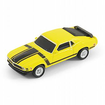 Ford Mustang Boss 302 coche USB Memory Stick 8Gb - amarillo
