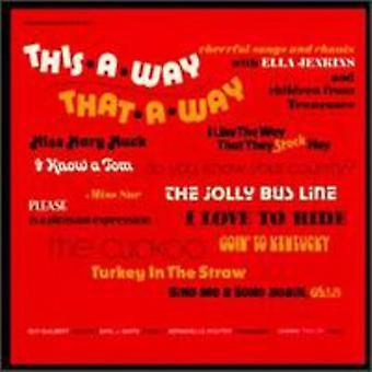 Ella Jenkins - This-a-Way That-a-Way [CD] USA import