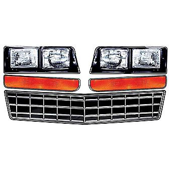 Allstar Performance ALL23014 Monte Carlo SS Nose Decal Kit, Stock Grille, 1 Pack