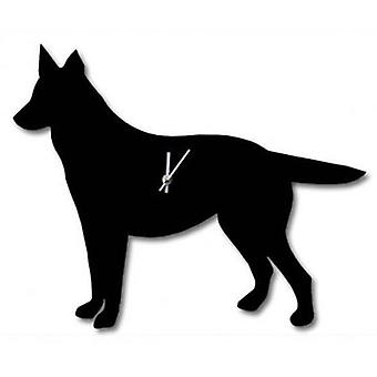 The Labrador Company Waggy Tail Clock - German Shepherd