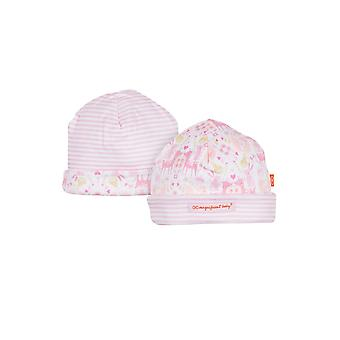 Magnificent Baby Magnetic Me™ Reversible Baby Girl Cap- Woodland Damask