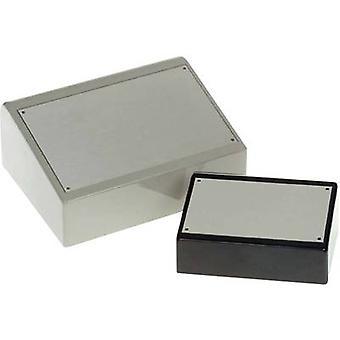 Desk casing 187 x 243 x 103 Acrylonitrile butadiene styrene Black Axxatronic BIM8007-BLK/PG 1 pc(s)