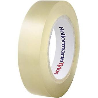 HellermannTyton 710-00147 Electrical tape HelaTape Flex 15 Transparent (L x W) 10 m x 15 mm 1 Rolls
