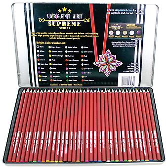 Colored Pencil Art Set In A Tin 36/Pkg
