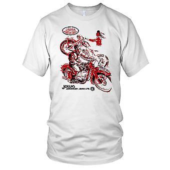 Jawa amerikansk Jawa klassiker motorsykkel Mens T-skjorte