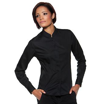 Bargear Ladies' Long Sleeved Mandarin Collar Bar Shirt - KK740