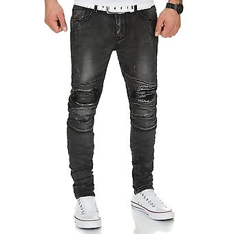 KAS selection Jogg mens jeans dark grey