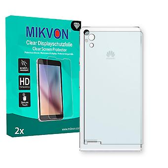 Huawei Ascend P6 reverse Screen Protector - Mikvon Clear (Retail Package with accessories)