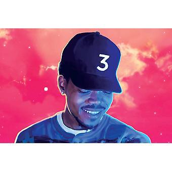 Kans de rapper poster boek kleurplaten