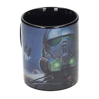 Rogue One: A Star Wars Story Tasse Death Trooper schwarz, bedruckt, aus Keramik.
