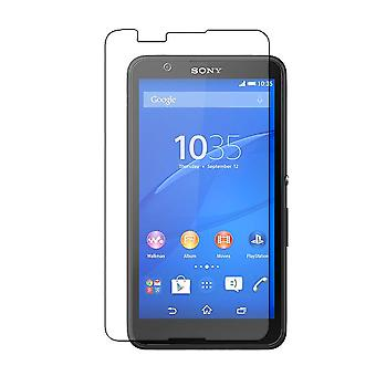 Tempered glass screen protector Sony Xperia E4 transparent