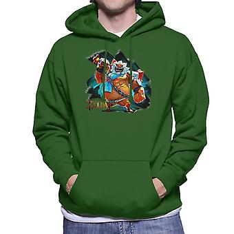 Zelda Breath Of The Wild Daruk Champion Men's Hooded Sweatshirt