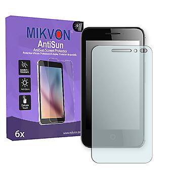 Alcatel Pixi 4 4 Zoll Screen Protector - Mikvon AntiSun (Retail Package with accessories)