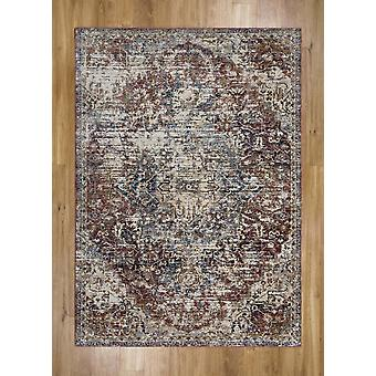 Alhambra 6504B Red  Rectangle Rugs Traditional Rugs