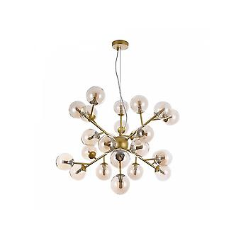 Maytoni Lighting Dallas Modern Pendant, Gold