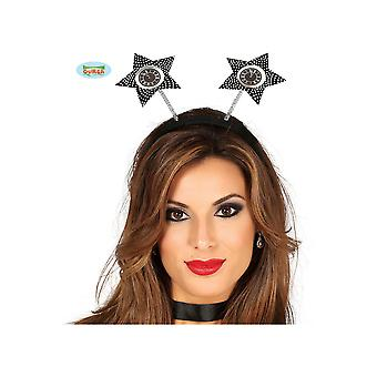 Accessori per capelli Diadem con newyear felice dell'orologio