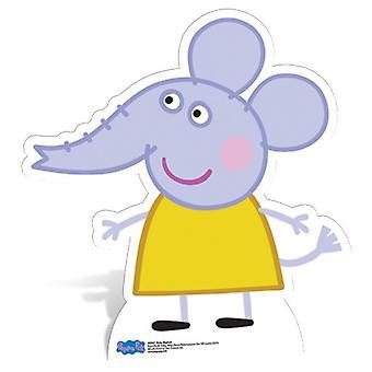 Emily Elephant Lifesize Cardboard Cutout / Standee - Peppa Pig
