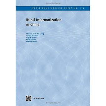 Rural Informatization in China (World Bank Working Papers)