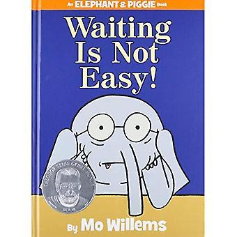 Väntar är inte lätt! (Elefant & Piggie böcker)