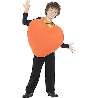 Childrens Peach Fancy Dress Costume