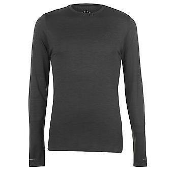 Asics para hombre transparente manga larga T Shirt