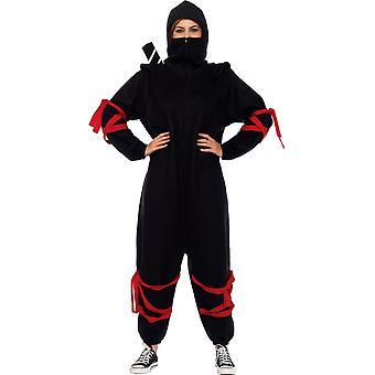 Strój kobiet czarny Ninja