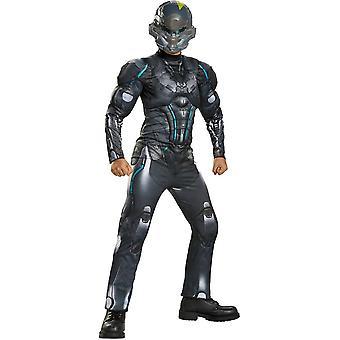 Spartaanse Halo kostuum voor kinderen