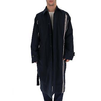 Acne Studios Black Cotton Coat