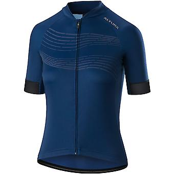Altura Blue 2019 Firestorm Womens Short Sleeved Cycling Jersey