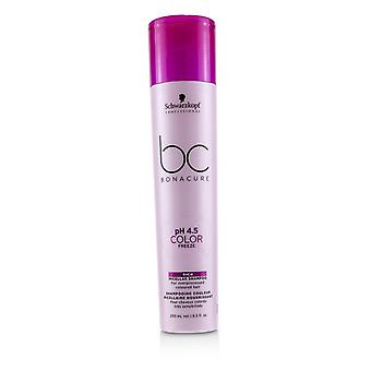 Schwarzkopf BC Bonacure pH 4.5 Color Freeze Rich Micellar Shampoo (For Overprocessed Coloured Hair)-250ml/8.5oz