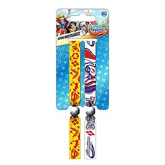 DC Super Hero Girls Festival Wristband Set