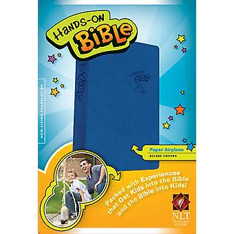 Hands-On Bible-NLT-Paper Airplane - 9781414398532 Book