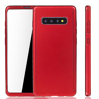Samsung Galaxy S10 Phone Case Protection Case Full Cover Tank Protection Foil Rouge