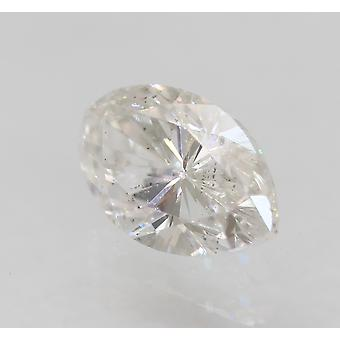 Certified 0.38 Carat E VS2 Marquise Enhanced Natural Loose Diamond 5.86x3.7mm