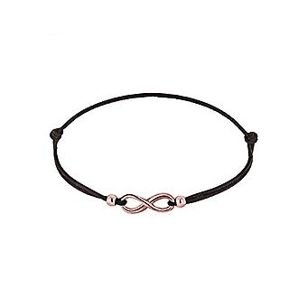 Elli Women's Bracelet in Silver 925 with Infinite Pink Sign