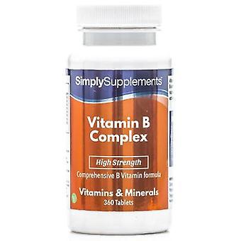Vitamin-b-complex - 360 Tablets