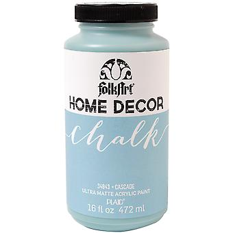 Folkart Home Decor Chalk Finish Paint 16oz-Cascade